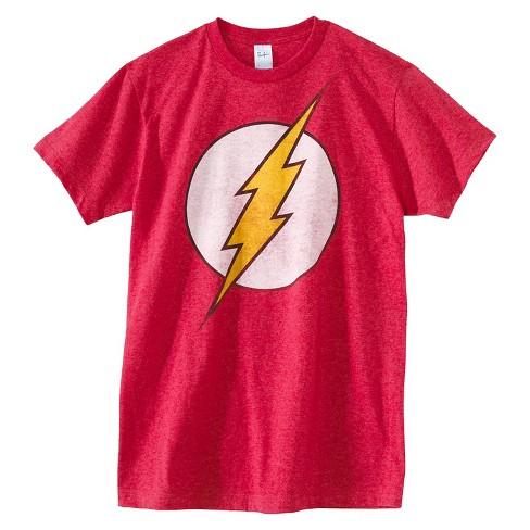 Men's Big & Tall The Flash T-Shirt Red - image 1 of 5