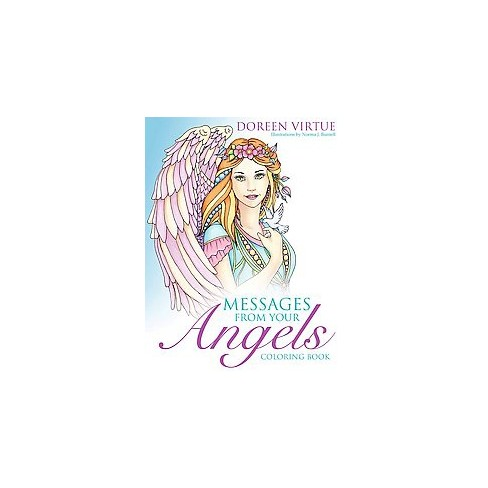 Messages From Your Angels Coloring Book (Paperback) (Doreen Virtue ...