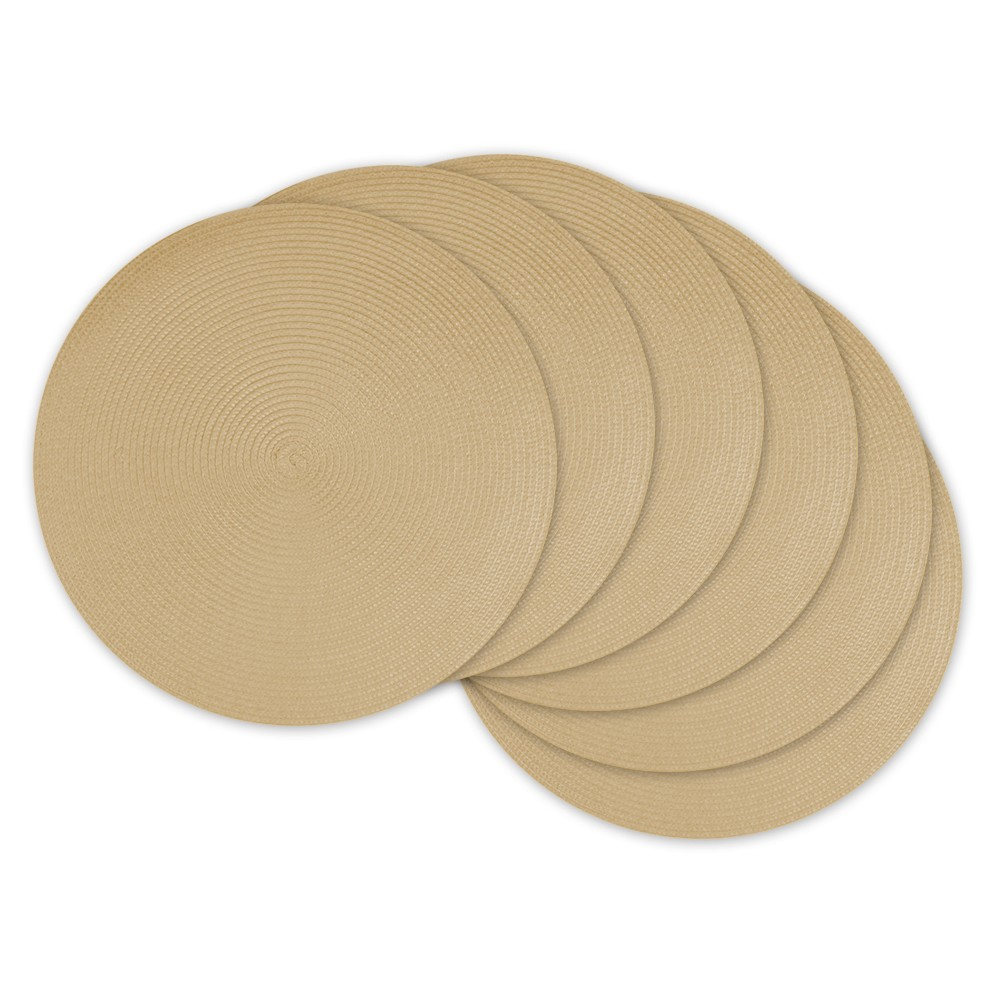 Image of 6pk Beige Placemat - Design Imports