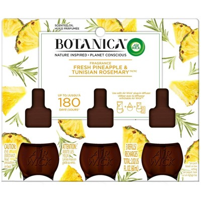 Botanica by Air Wick Scented Oil Triple Fresh Pineapple & Tunisian Rosemary