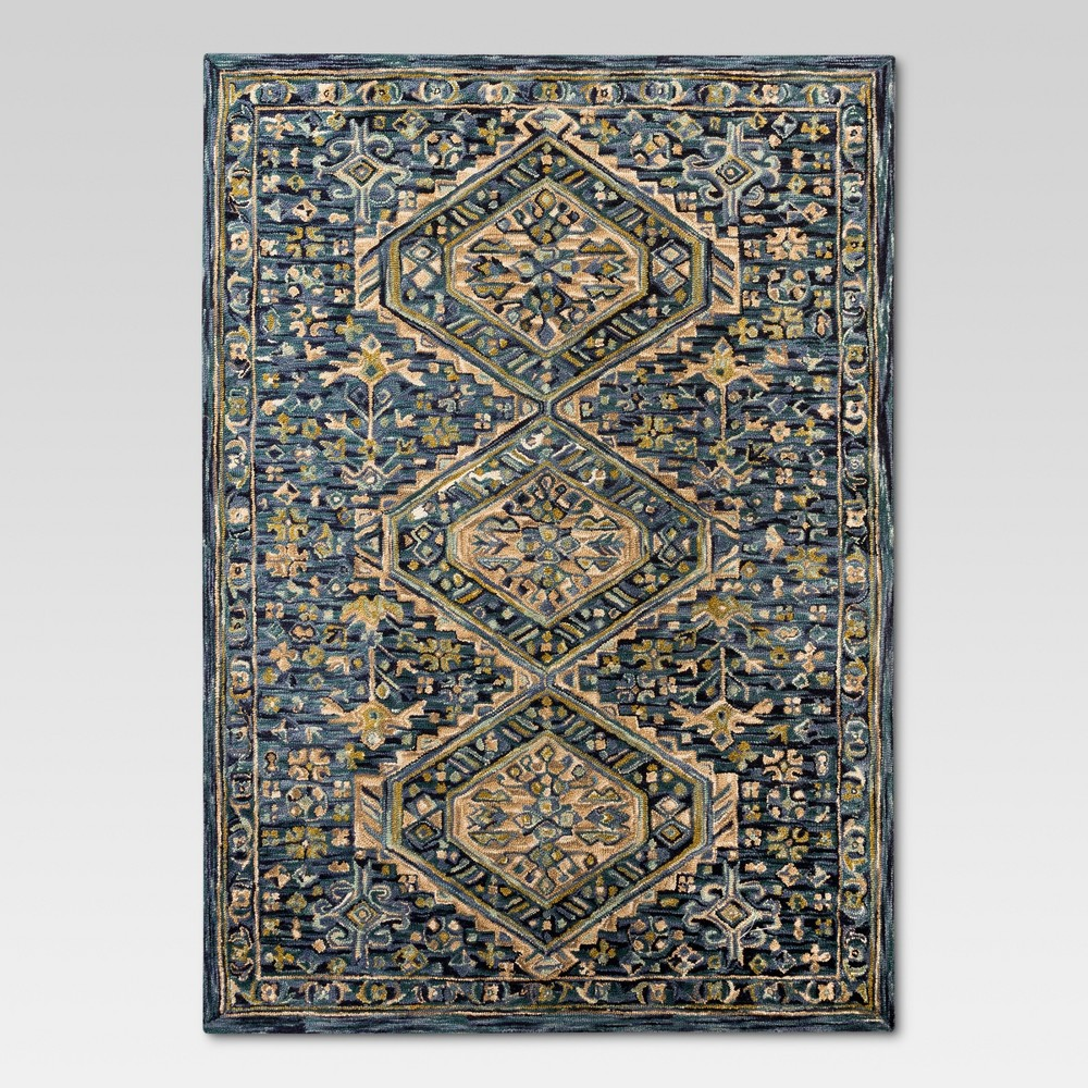 Floral Hooked Area Rug 7'X10' - Threshold, Multicolored