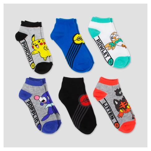 37c811687f6 Kids' Pokmon Crew Socks : Target