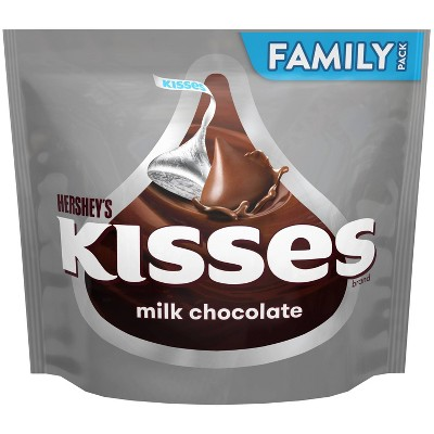 Kisses Milk Chocolate Candy - 17.9oz