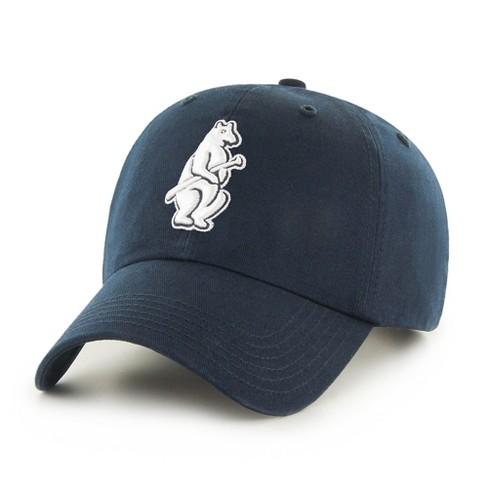00b4310e792 MLB Chicago Cubs Navy 1914 Cub Logo Adjustable Baseball Hat   Target