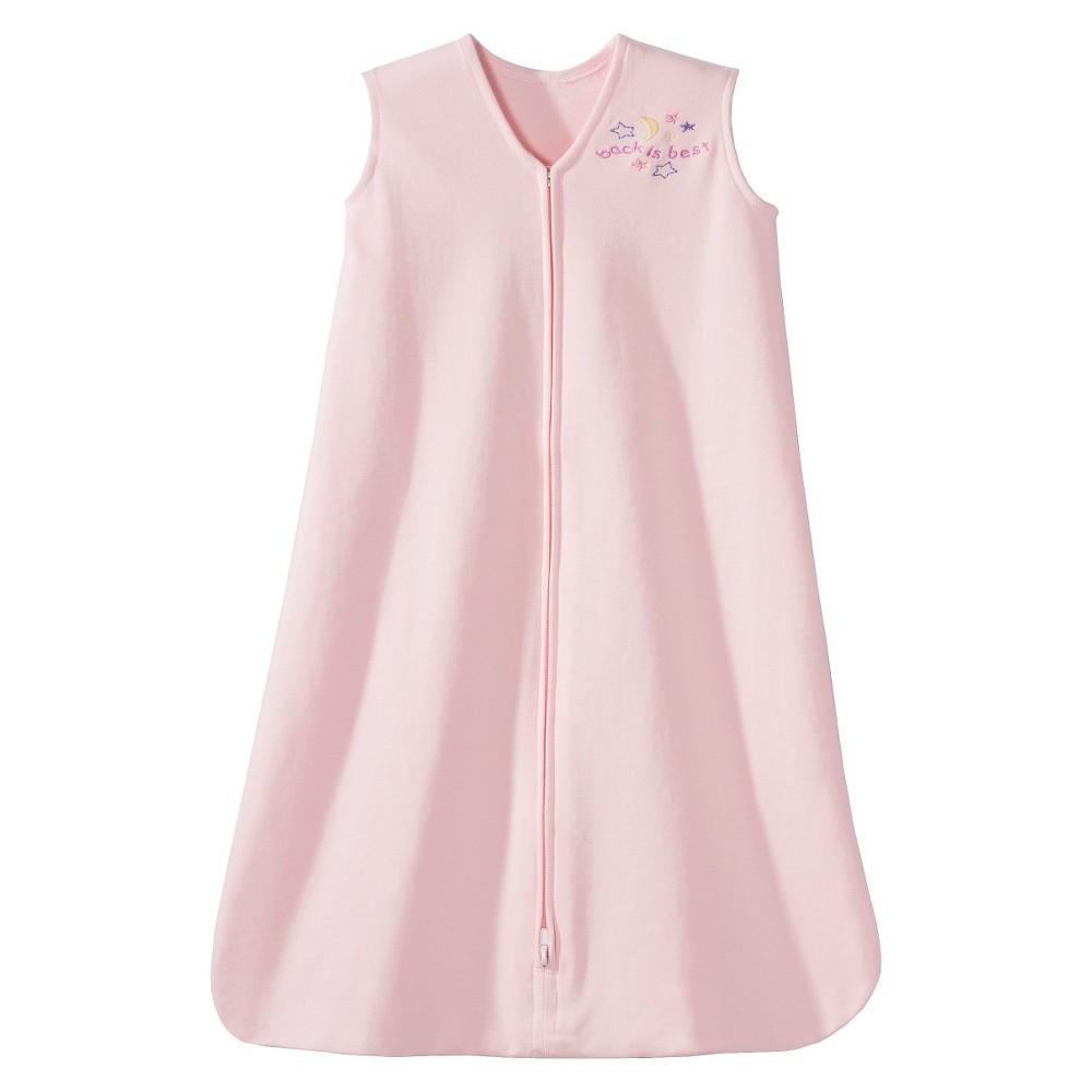 Halo SleepSack 100% Cotton Wearable Blanket - Soft Pink - Small, Infant Unisex