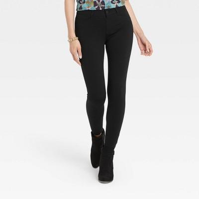 Women's Skinny Fit Ponte Pants - Knox Rose™ Black