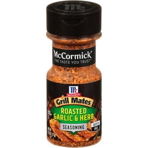 McCormick Grill Mates Gluten Free Roasted Garlic & Herb Seasoning - 2.75oz - image 1 of 4
