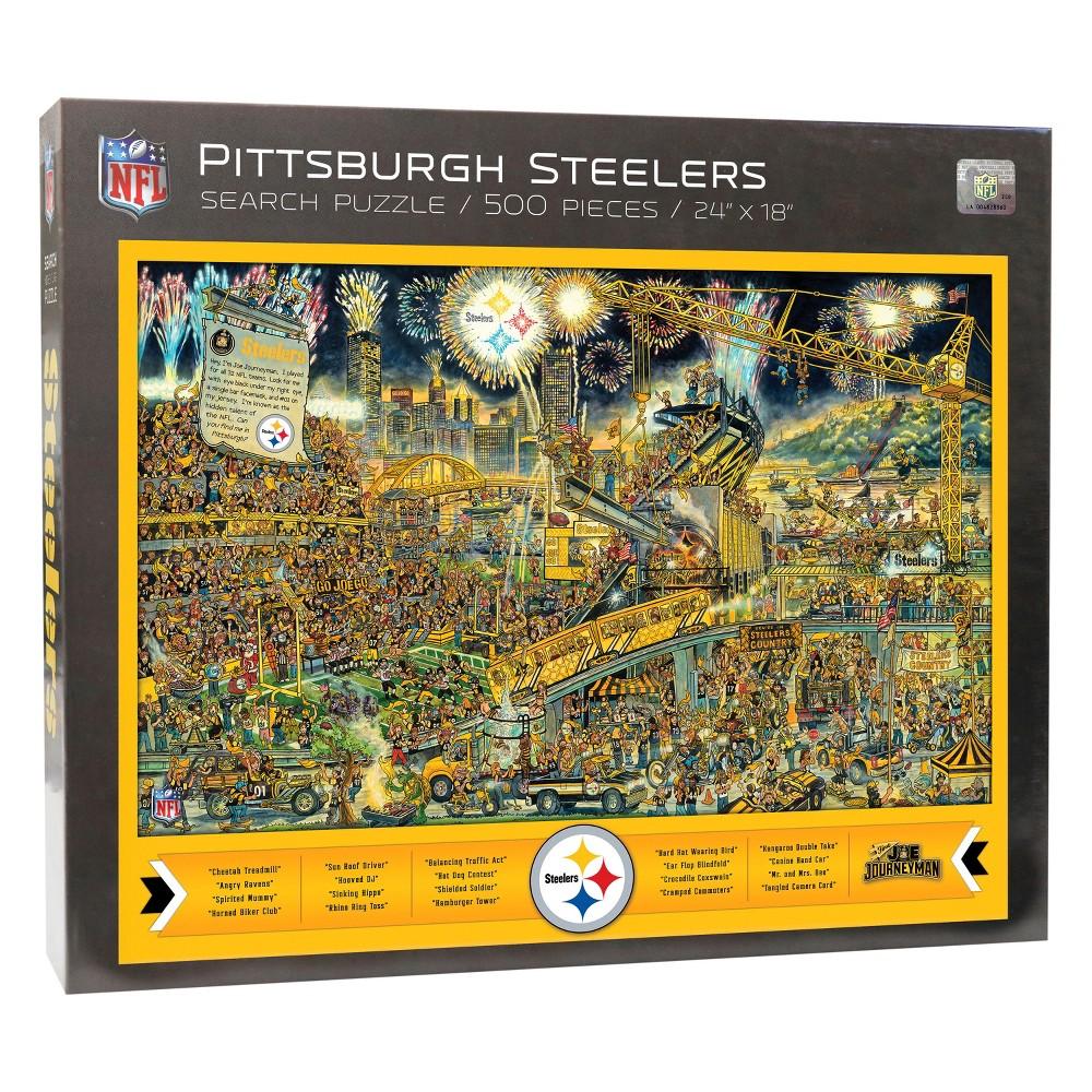 Pittsburgh Steelers Joe Journeyman Find Joe Puzzle 500pc