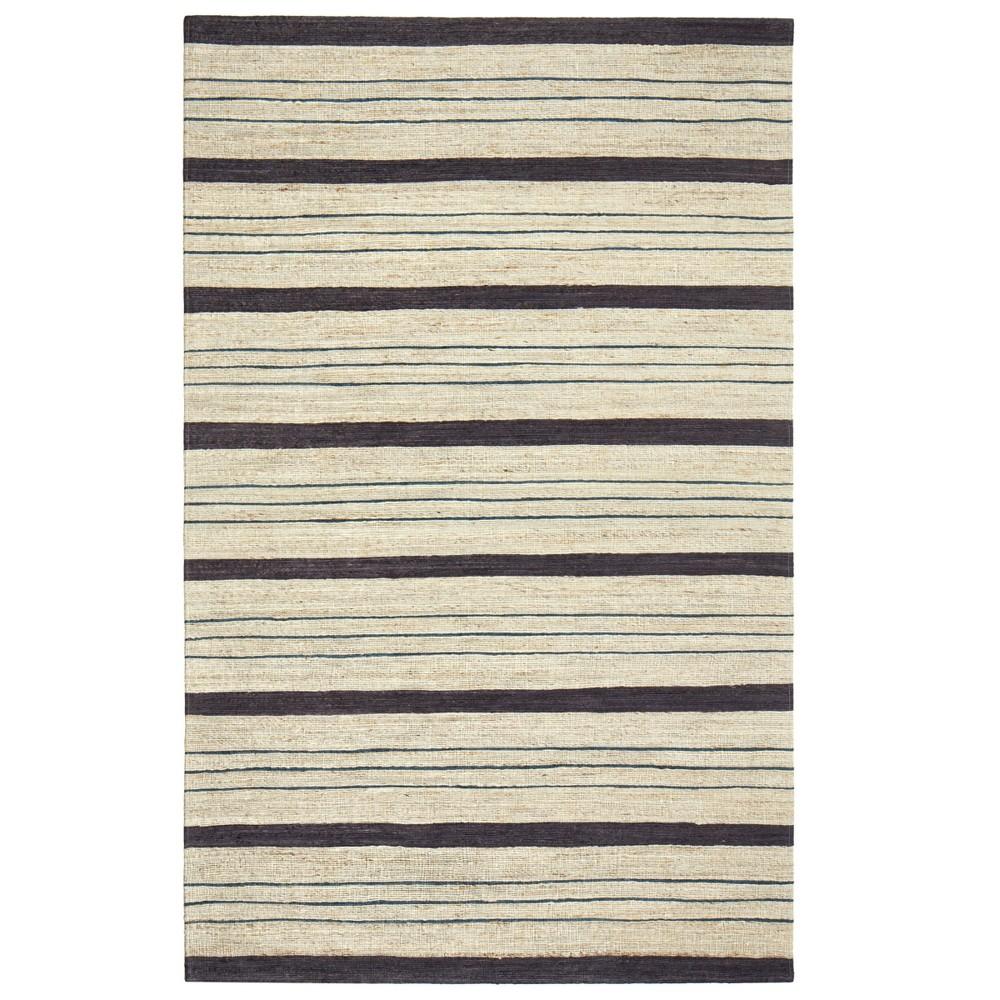 Stripe Woven Area Rug 5'X7' - Anji Mountain, Multi-Colored