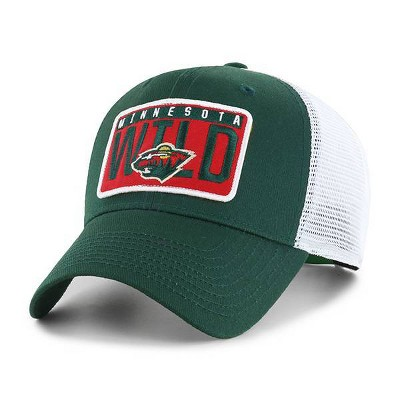 NHL Minnesota Wild Men's Mesh Back Bolton Hat