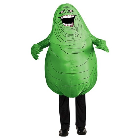 Ghostbusters Inflatable Slimmer Kids' Costume Green - image 1 of 1
