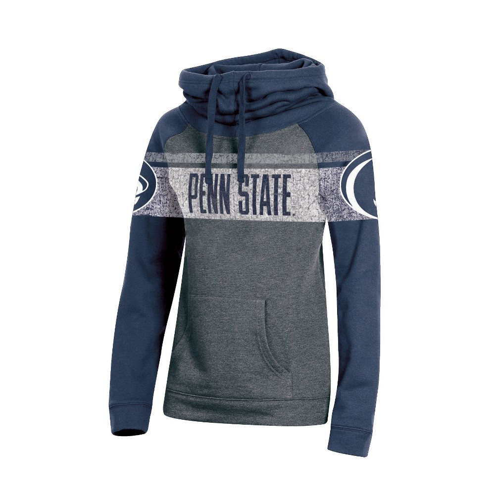 Penn State Nittany Lions Women's Cowl Neck Hoodie - XL, Multicolored
