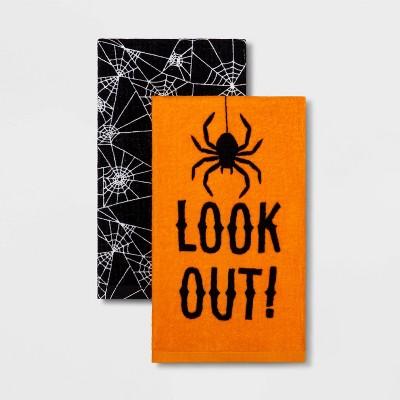 2pk Spider Halloween Kitchen Towel - Hyde & EEK! Boutique™