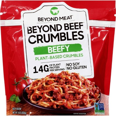 Beyond Meat Frozen Beyond Beef Plant Based Crumbles Beefy - 10oz