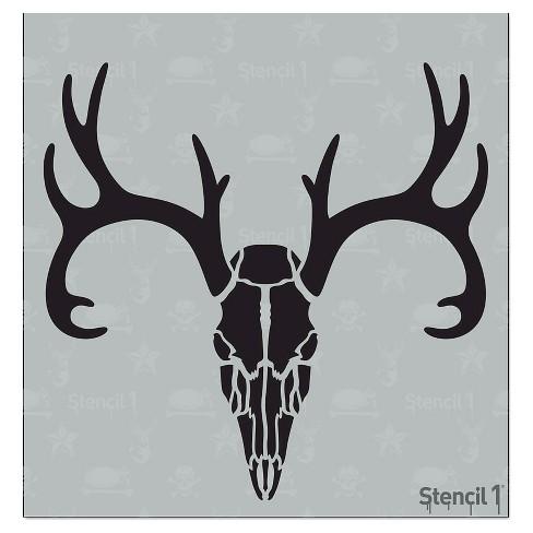 Stencil1 Deer Skull Stencil 575 X 6 Target