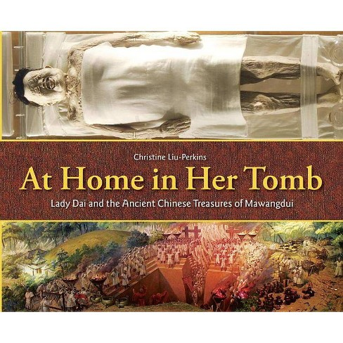 At Home in Her Tomb - by  Christine Liu-Perkins (Hardcover) - image 1 of 1