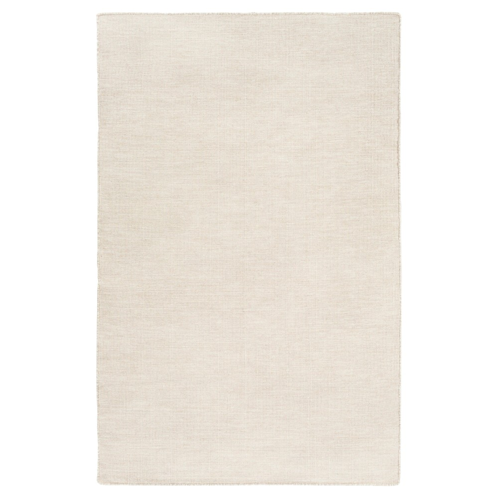 Beige Solid Woven Accent Rug - (4'X6') - Surya