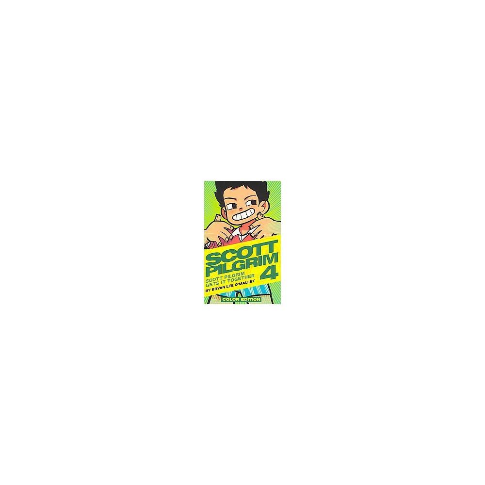 Scott Pilgrim Color 4 : Scott Pilgrim Gets It Together: Color Edition (Hardcover) (Bryan Lee O'Malley)