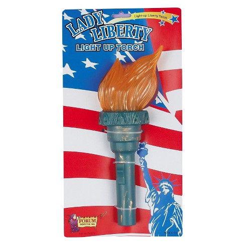 Halloween Adult Light Up Liberty Torch Green - One Size - image 1 of 1