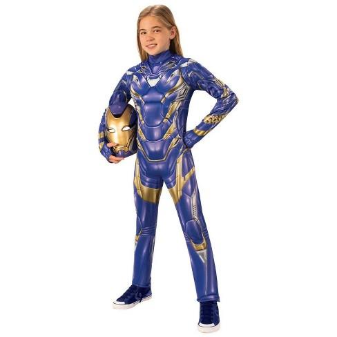 Girls' Marvel Avengers Armored Deluxe Halloween Costume - image 1 of 1