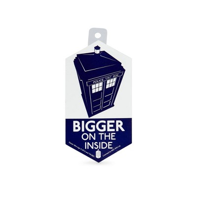 Seven20 Doctor Who Sticker: Bigger On The Inside