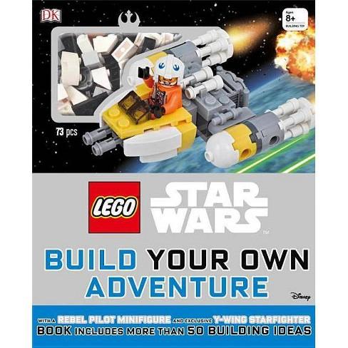 Lego Star Wars: Build Your Own Adventure - (Lego Build Your Own Adventure)  by Daniel Lipkowitz