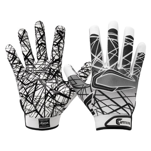 Cutters Game Day Receiver Gloves - Youth S - White - image 1 of 1