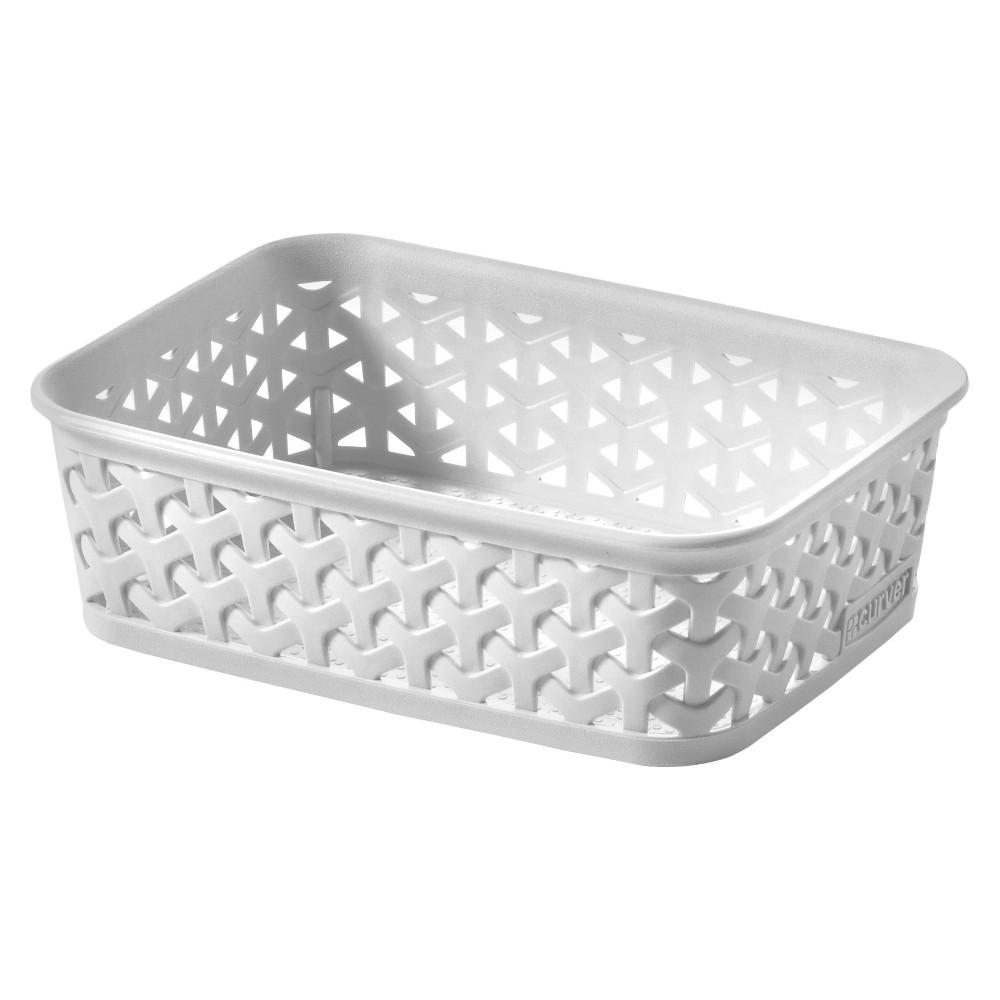 Cube Storage Basket - White - Room Essentials