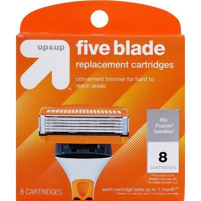 Men's Five Blade FITS Cartridges 8ct - up & up™