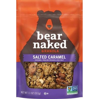 Bear Naked Seasonal Blend Salted Caramel Granola -12oz