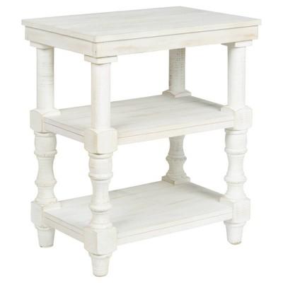 Dannerville Accent Table Antique White - Signature Design by Ashley