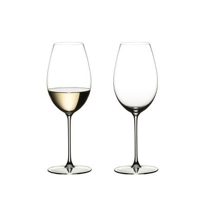 Riedel 6449/33 Veritas Crystal Dishwasher Safe Sauvignon Blanc White Wine Glass (2 Pack)