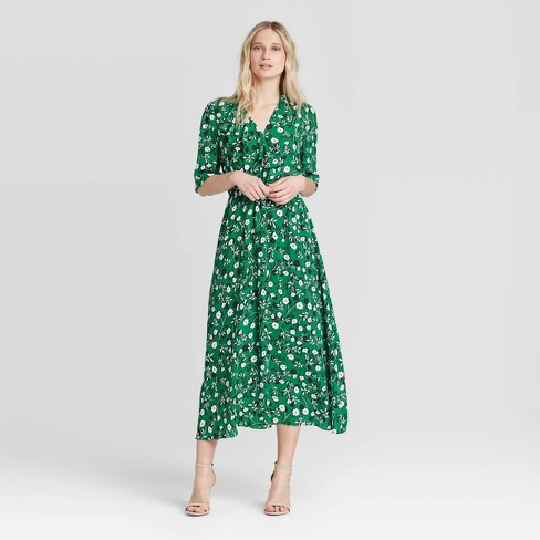 Women's Elbow Sleeve Dress - Who What Wear™ - image 1 of 3