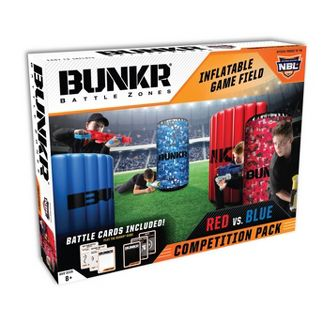 Bunkr Battle Zones Red vs. Blue Competition Pack