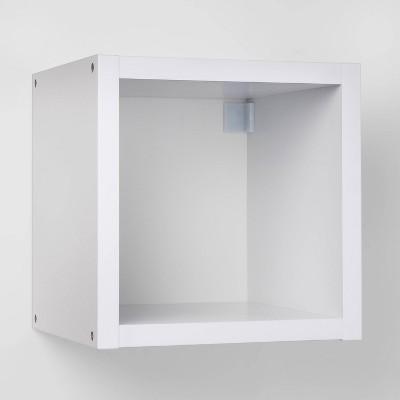 Single Cube Bookshelf White - Threshold™