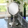 Zadro Two-Sided Swivel Vanity Mirror - 1X & 8X Magnification - image 3 of 4
