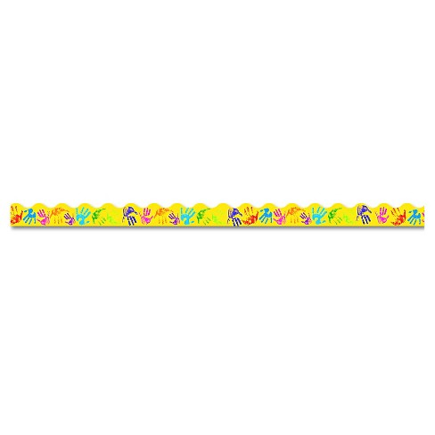 "TREND Terrific Trimmers Bright Border, 2 1/4"" x 39"" Panels, Helping Hands, 12/Set - image 1 of 2"
