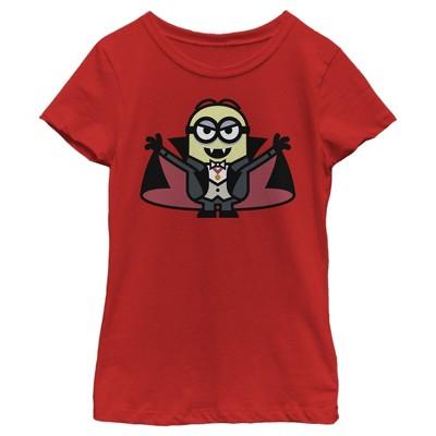 Girl's Despicable Me Minions Dracula T-Shirt