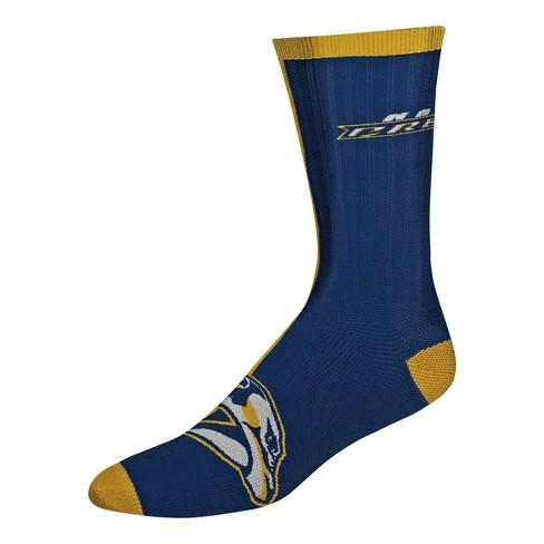 NHL Nashville Predators Sport Big Crew Socks - L - image 1 of 1