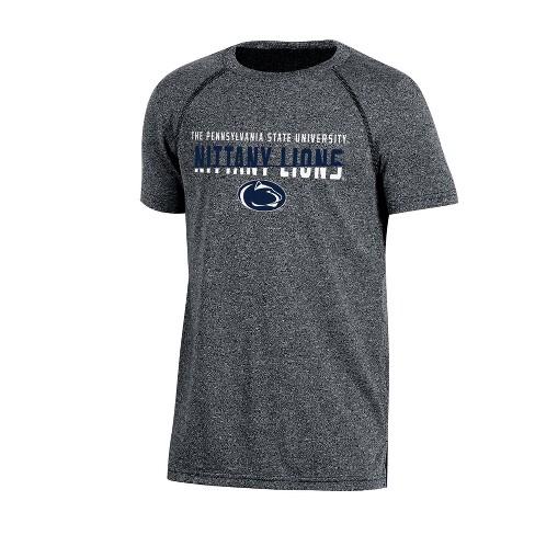 Penn State Nittany Lions Boys Short Sleeve Crew Neck Raglan Performance T-Shirt - Gray Heather - image 1 of 1