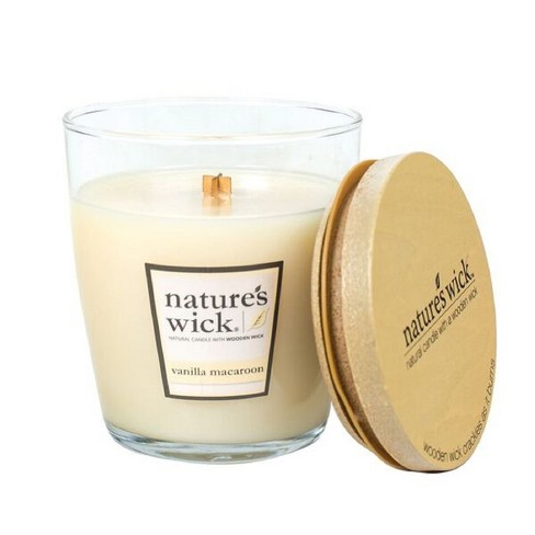 10oz Glass Jar Candle Vanilla Macaroon - Nature's Wick - image 1 of 1