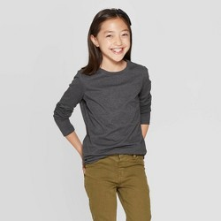 Girls' Crew Neck Long Sleeve T-Shirt - Cat & Jack™