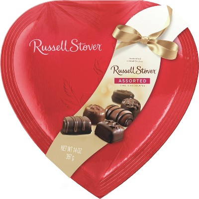 Russell Stover Valentines Day Assorted Fine Chocolates - 14oz