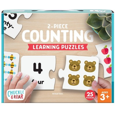 Chuckle & Roar Counting Learning Puzzle 50pc