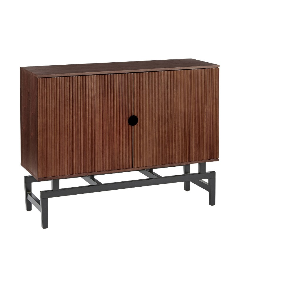 Image of Luxe Buffet Walnut - Angelo Home, Brown