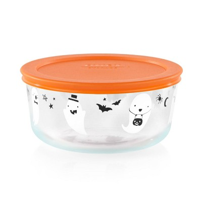 Pyrex 32oz Glass Ghost Food Storage Container