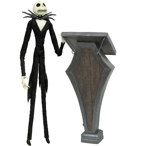 Nightmare Before Christmas Coffin Doll Jack Skellington with Podium 16-Inch - image 1 of 1