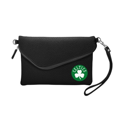NBA Boston Celtics Fold Over Pebble Crossbody Bag - image 1 of 1