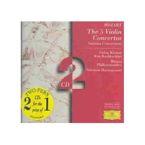 Mozart - Mozart:5 Violin Ctos (CD) - image 1 of 1