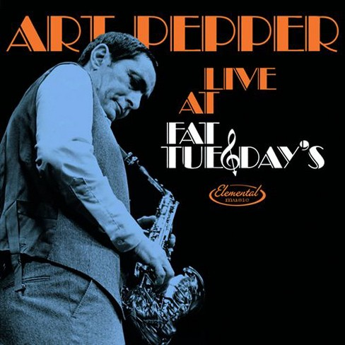 Art pepper - Live at fat tuesday's (CD) - image 1 of 1